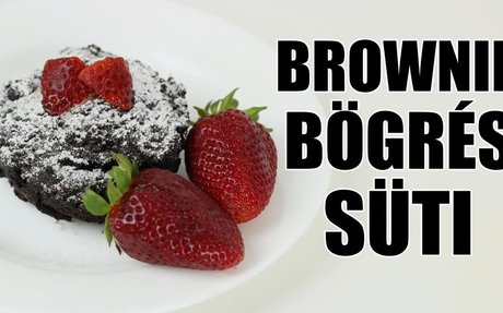 BROWNIE BÖGRÉS SÜTI ● FollowAnna