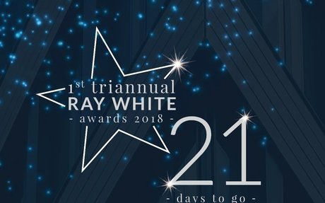 "21 Days to Go Until our Spectacular Event of the Year, ""The 1st Triannual Ray White Awards"