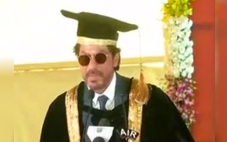 Shah Rukh Khan conferred with honorary doctorate by Maulana Azad National Urdu University