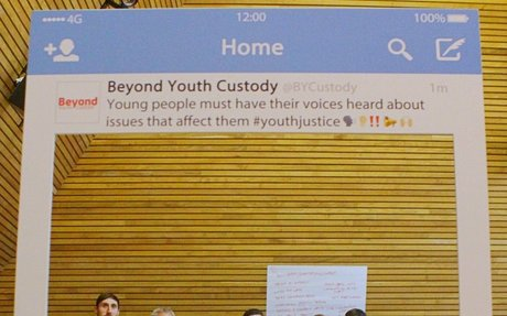 Involving young people in the youth justice system