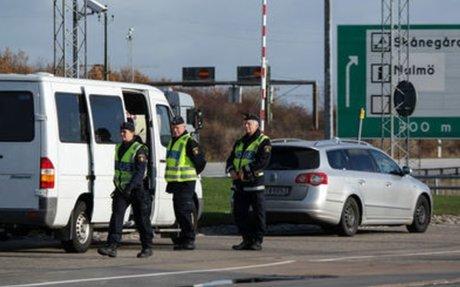 Kraftig ökning av upptäckta brott efter gränskontrollerna - DN.SE