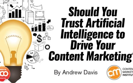 How Artificial Intelligence Can Drive Content Marketing Strategy