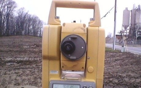 Total station angle drift