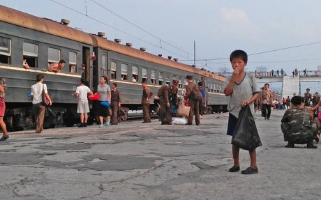 A photographer captured these dismal photos of life in North Korea on his phone