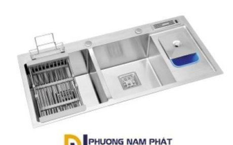 Chậu rửa chén inox đúc - Phương Nam Phát