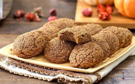 Soft Pumpkin Cookies (gluten-free, grain-free, Paleo)