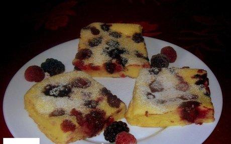 Sütőben sült gyümölcsös palacsinta recept Vass Laszlone konyhájából - Receptneked.hu