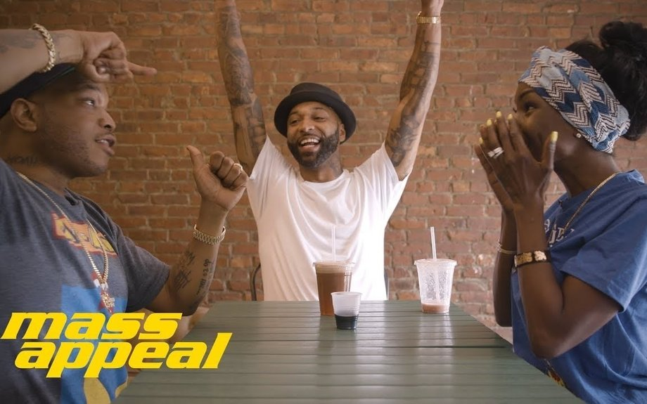 JUICE APPEAL: Joe Budden stops by Juices for Life with Adjua Styles and Styles P. | Mass A