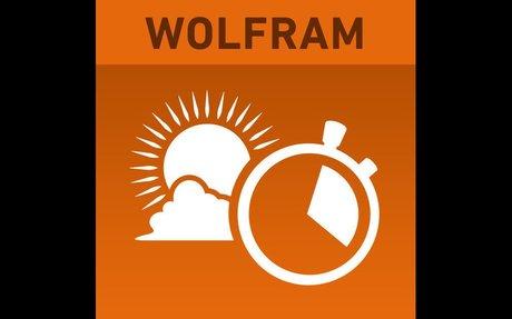 Wolfram Sun Exposure