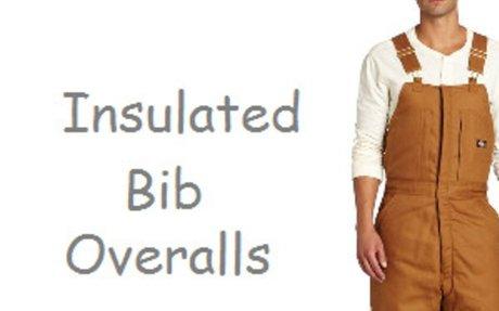 Best Insulated Bib Overalls for Men   XL XXL 3XL 4XL 5XL 6XL