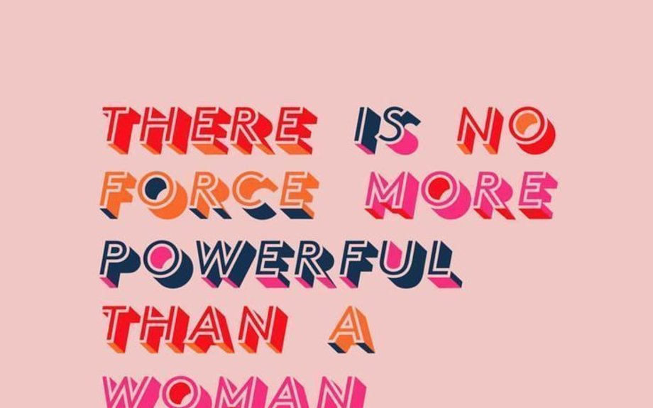 There is no force more powerful than a woman determined to rise. Feminism quote, inspir...