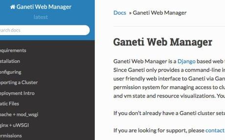 Ganeti Web Manager documentation