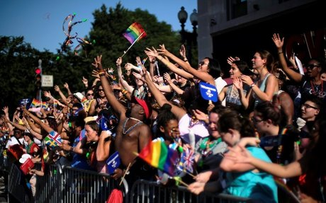 Capital Pride parade disrupted by protesters; revelers rerouted