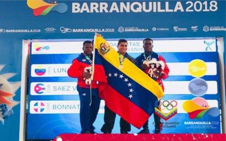 Venezuela se mantiene en el cuarto lugar de los Centroamericanos