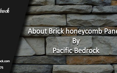 About Brick honeycomb panels by Pacific Bedrock