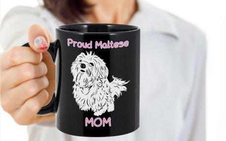 Maltese Dog Mom Mug For Mothers Day