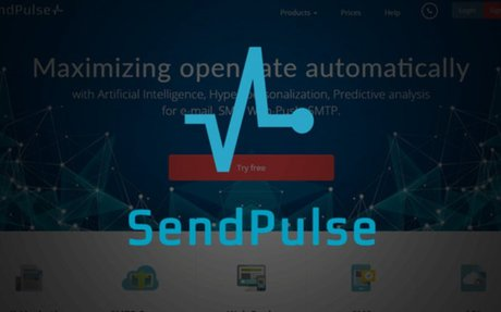 SendPulse is a platform which offers multiple channels of communication with customers:ema