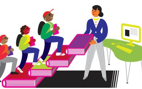 A full-time school librarian makes a critical difference in boosting student