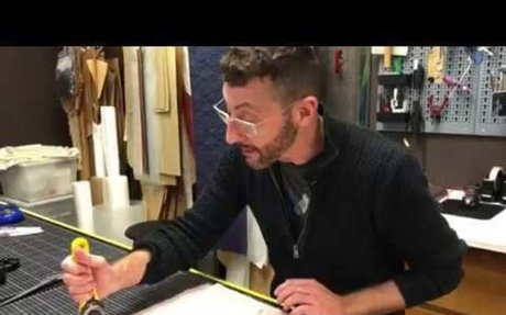 YouTube Trucos Maestros 02 - Preparación y Corte de Tejidos (Preparing and Cutting Fabric