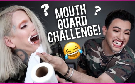 MOUTHGUARD CHALLENGE WITH JEFFREE STAR!