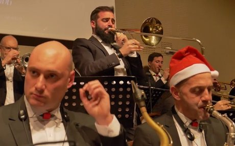 """PERUGIA BIG BAND """"A Merry Swingin'grifo Christmas"""" Live at Hotel Giò"""