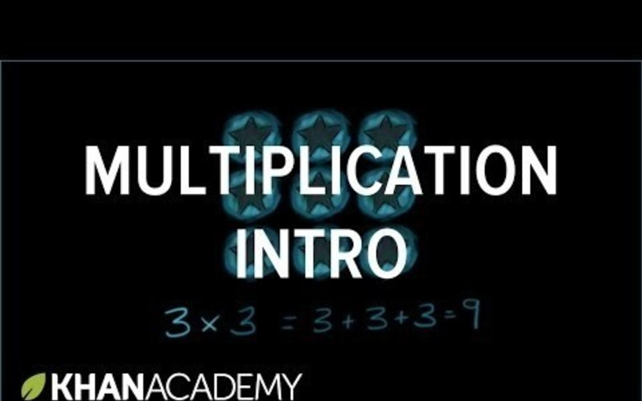 Intro to multiplication: work your way through videos and activities to review Xs