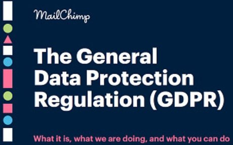 Mailchimp guidance on GDPR publication