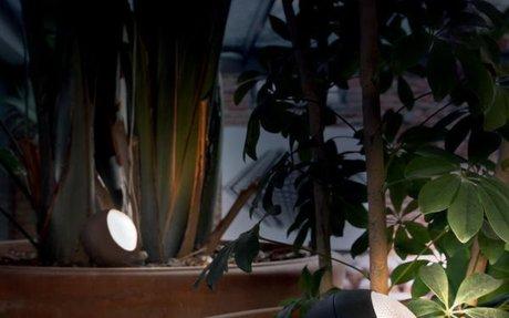 Bornes extérieures : éclairages de terrasse design