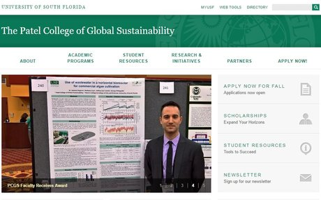 Patel College of Global Sustainability at University of South Florida