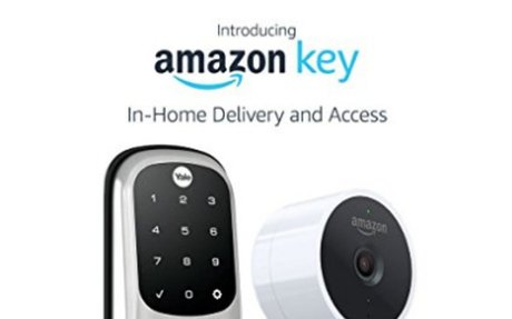 Amazon Key In-Home Kit includes: Amazon Cloud Cam (Key Edition) indoor security camera