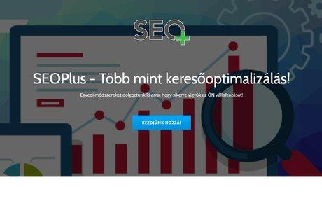 SEOplus - weboldalkészítés és SEO-s üzletág bevezetése