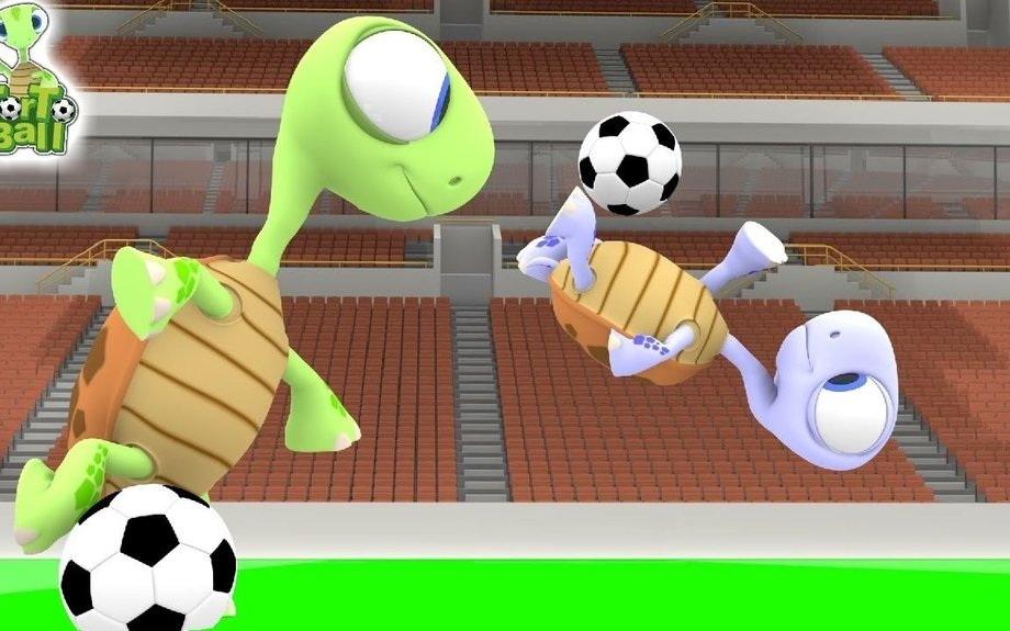 Turtles FreeStyle Football - Freestyle Soccer Ball For Kids | Torto Ball