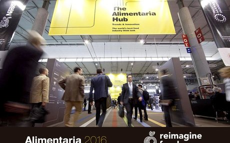 REIMAGINE FOOD DESEMBARCA EN ALIMENTARIA 2016