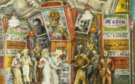 A Depression Art Gallery