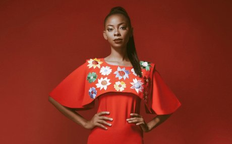 Aisha Abu-Bakr Luxury Designs New Lookbook 'Rouge'