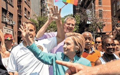 La evolución de Clinton en el tema de derechos LGBT