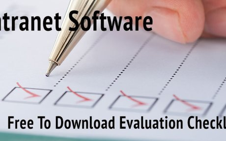 Intranet Software ᐅ Free To Download Evaluation Checklist
