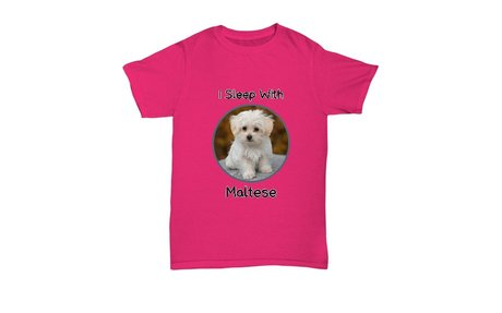 Maltese Dogs Love T-Shirt