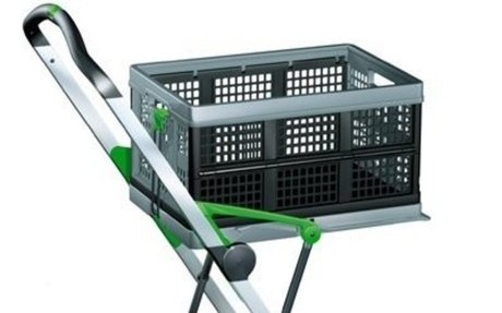 Clax Collapsible Folding Shopping Cart Trolley Review on Flipboard