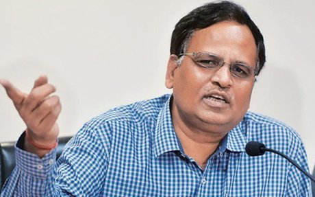 CBI carried out search operation at Delhi Health Minister Satyendra Jain's OSD's office