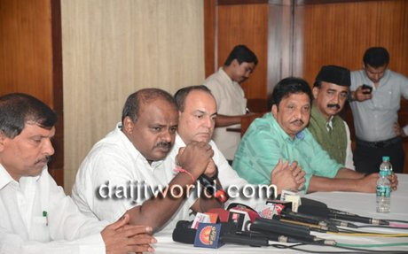 Mangaluru: No more alliance with any party - Kumaraswamy on pact with Congress