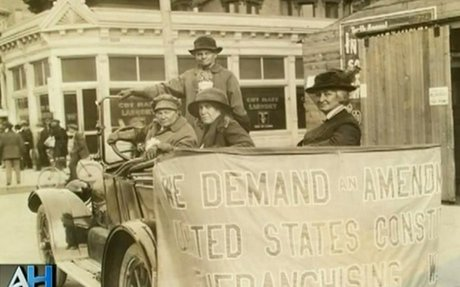 Women's Suffrage and the 19th Amendment