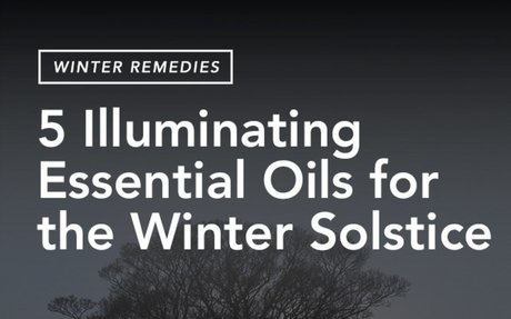 Radiate Light with these Winter Solstice Essential Oils - Aromatic Studies