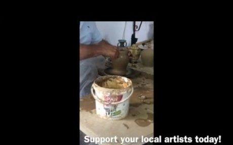 Preserve Cultural Heritage: Buy Local Art