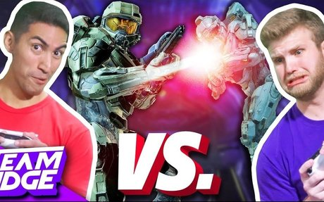 LASERS ONLY CHALLENGE! | Halo 5: Guardians