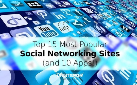 Top 15 Most Popular Social Networking Sites and Apps [August 2017]
