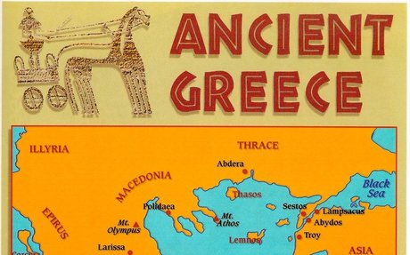Ancient Greece Map vs Modern Greece Map - Epictourist