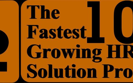 The 10 Fastest Growing HR Solution Provider