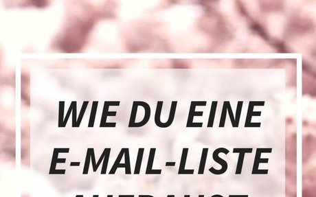 Wie du eine E-Mail-Liste aufbaust - von 600 auf 7000 Abonnenten in 3 Monaten