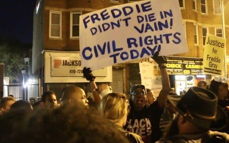 After a Confrontation Goes Viral, a Baltimore Activist Is Born